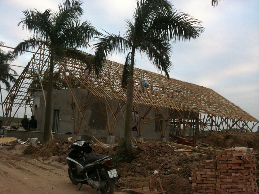 Thi công nhà tre, thi cong nha tre, thiết kế công trình tre, thiết kế công trình, thiết kế kiến trúc